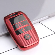 Car Key Case for kia sportage 2019 rio 3 ceed sorento picanto cerato soul optima 4 2011 niro x line stinger forte k7 k5 k3 k2(China)