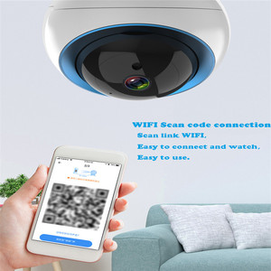 Image 3 - Cloud Dome IP Camera 1080P Mini Wifi Camera Security Camera Surveillance CCTV Auto Tracking Draadloze Camera Voor Home Shop kantoor