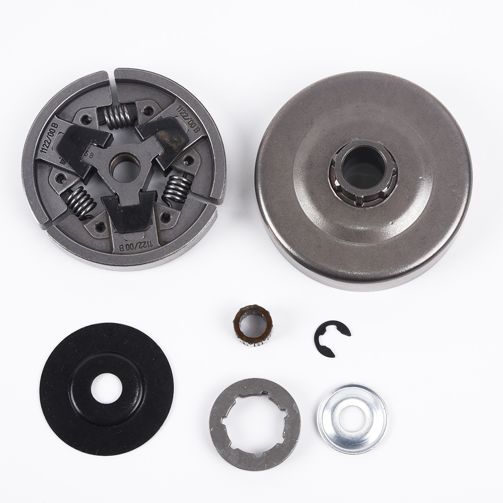 Clutch Drum Rim Sprocket Set For Stihl MS660 066 064 MS640 MS661 Chain Saw Accessories High Quality