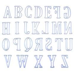 26 große Letters Prägung Schneiden Form Werkzeug Template Mold Karte, Der Sammelalbum Album Papier Karte Handwerk Stirbt Heißer Verkauf 4