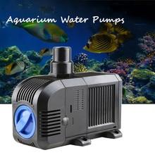7/8/20/25/35/45/55W  Multifunctional Aquarium Water Pumps Tank Pond Pool Fountains Pump Waterproof Submersible Fish Pond