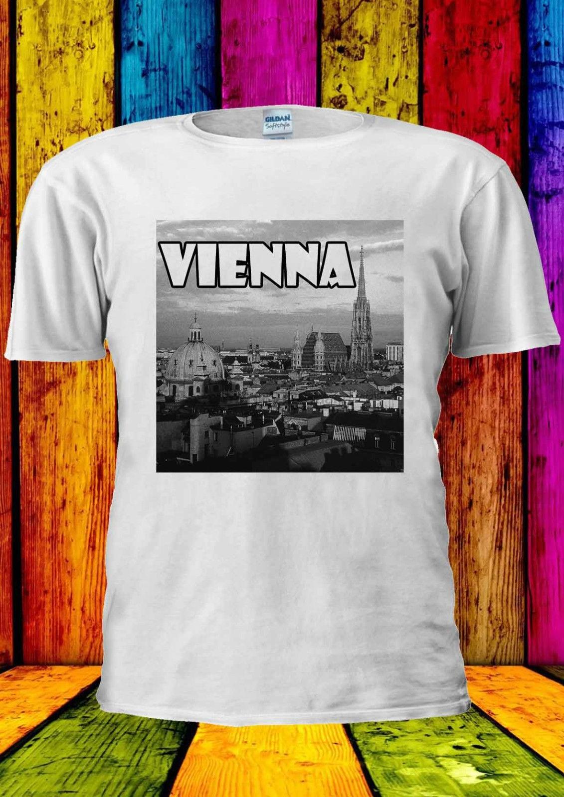 T-Shirt Femmes-Autriche-avec écusson Pression-S à XL-Noir-Austria