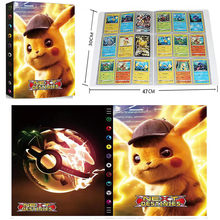 Album de cartes Pokemon Pikachu, 9 pochettes, 432 pièces, livre de cartes de jeu, dessin animé, dossier chargé, porte-liste, Collection de jouets pour enfants, cadeau