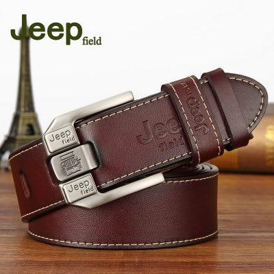 Famous Brand Designer Belt Men Men's Casual Genuine Leather Belt High Quality Cowhide Retro Pin Buckle Belt For Jeans