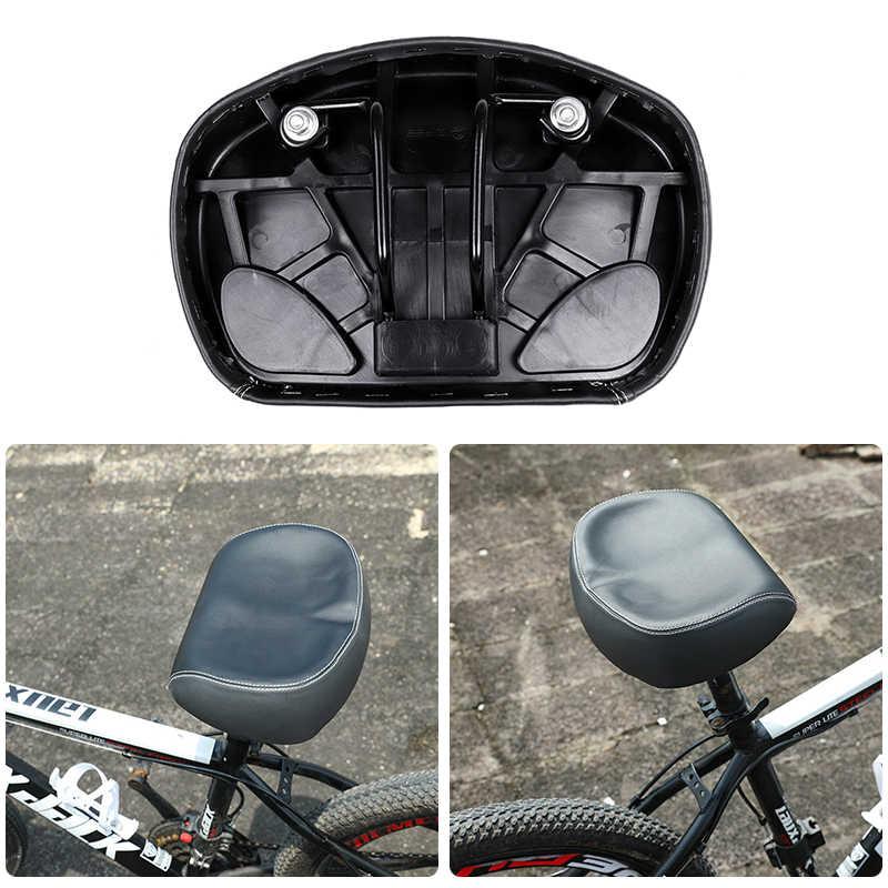 Comfort Super-elastic Bicycle Cycle Bike MTB Saddle Wide Big Seat Pad Cushion