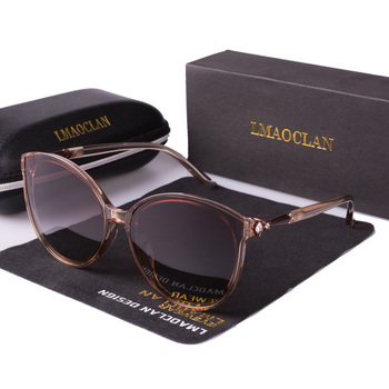 New Women Polarized Sunglasses Luxury Fashion Cat Eye Ladies Vintage Brand Designer Female Sun Glasses oculos gafas
