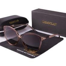 New Women Polarized Sunglasses Luxury Fashion Cat Eye Ladies Vintage Brand Desig