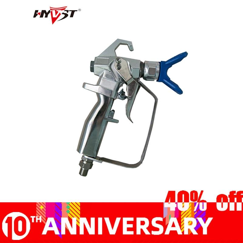 Vysokotlaká stříkací pistole HYVST bezvzduchová stříkací pistole dodavatel 2-prstová 3600Psi 24,8MP bezvzduchová stříkací pistole bez stříkání