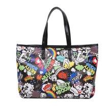 Popular Bag Female 2020 Fashion Smiley Face Luxury Handbags Women Bags Designer Casual Tote Bag Bolsos Mujer De Marca Famosa