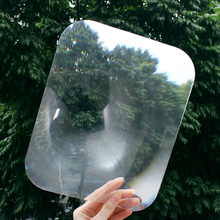 Car Reversing Sticker Durable Transparent Parking Sticker Auto Rear Window Enlarge View Angle Optical Wide Angle Fresnel Lens