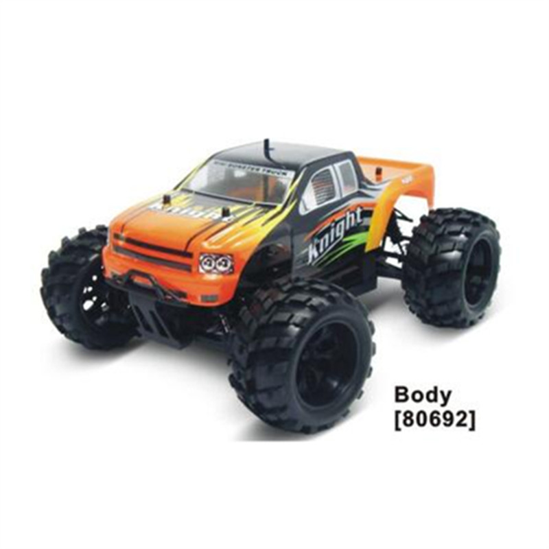 hsp rc car 1/18 scale 4wd off road rtr brushed monster truck 94806