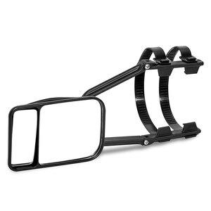 Image 3 - Einstellbare Clip auf Anhänger Abschleppen Dual Spiegel Auto Caravan Trailer Rückspiegel Erweiterung Abschleppen Spiegel Glas für Auto Caravan