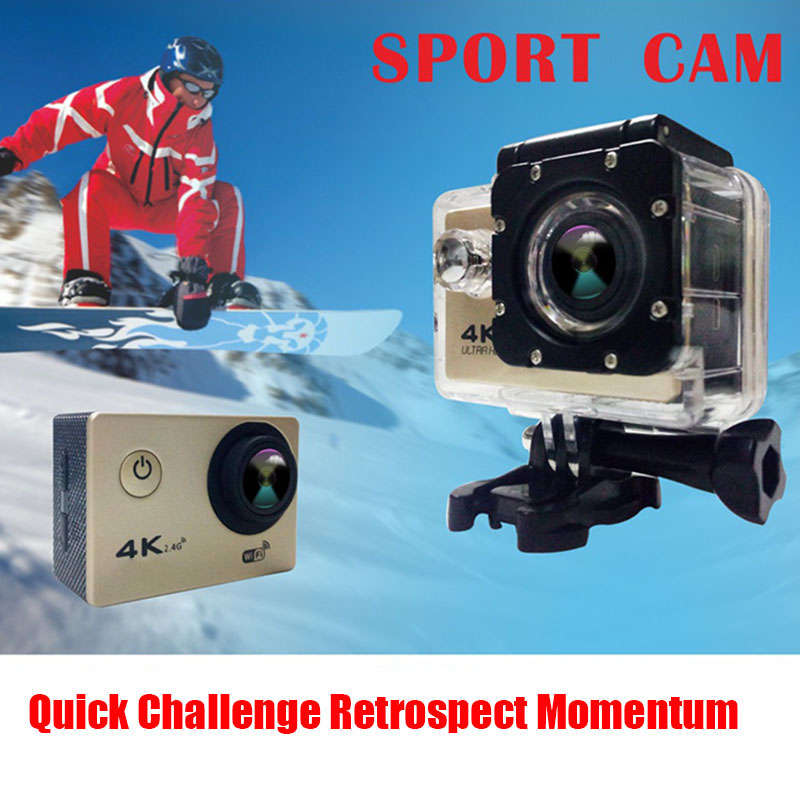 Full HD Waterproof Camera with 170 Degree Wide-angle Lens Support Time-lapse Photo X-Best image