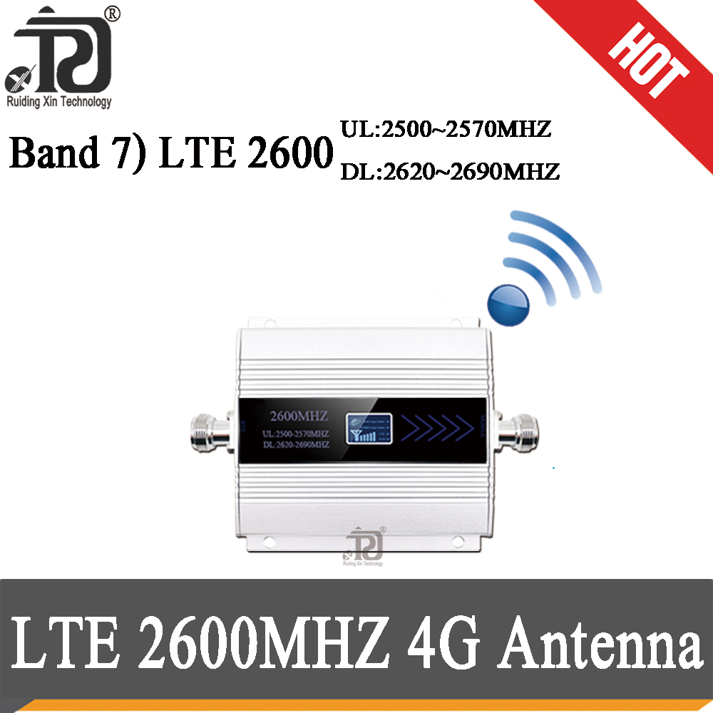 LTE 2600mhz 4g Mobile Signal Booster Repeater 4g 2600 Cell Phone Signal Booster 2600 Cellular Amplifier 2600
