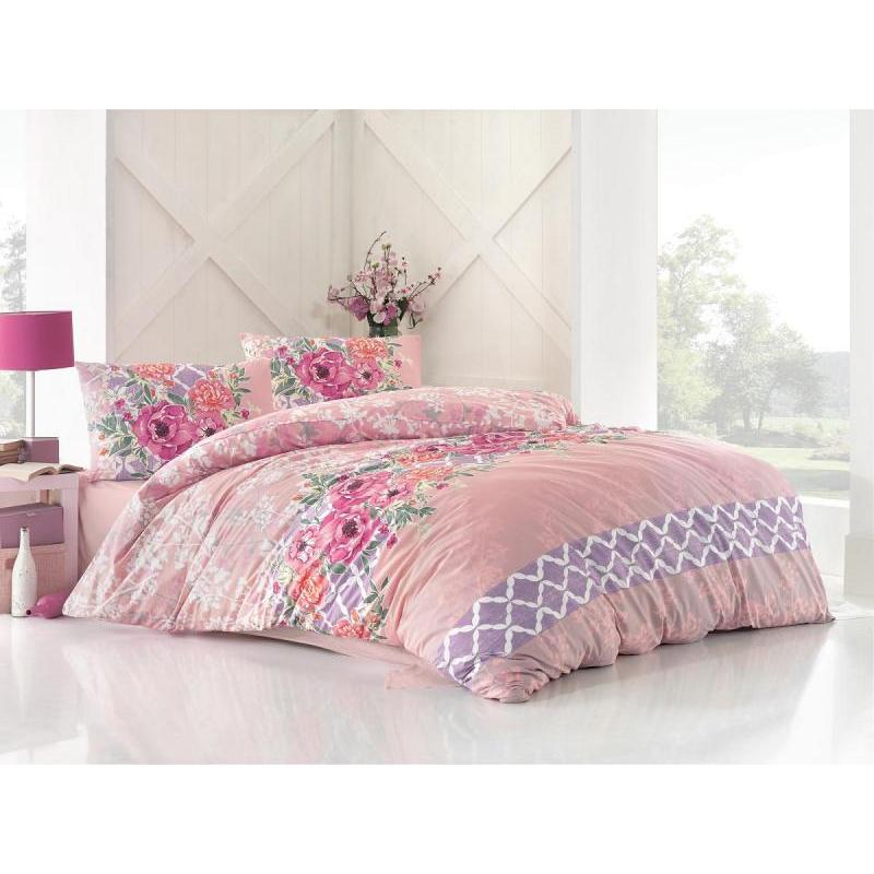 Bedding Set Double-euro ALTINBASAK, ASEL, Pink