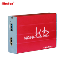 MiraBox USB 3.0 HDMI Game Capture Device with HDMI Out Support HD Video HDCP 1080P windows 7 8 Linux Youtube OBS Twitch for PS3