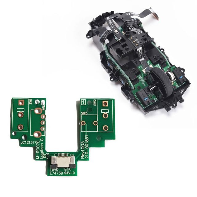 Mouse Upper Motherboard Micro Switch Button Board for logitech  G Pro Wireless Q81E