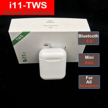 i11 i7s TWS Wireless Bluetooth 5.0 Earphone Stereo Headphone Ear bud Headset With Charging Box HD Microphones For mobile phone(China)