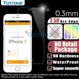 Image 5 - 100 개/몫 강화 유리 아이폰 12 11 프로 XS 최대 XR X 8 7 6 5 4 화면 보호기 소매 상자와 안티 스크래치 수호자