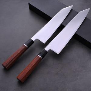 Image 5 - Cuchillo de cocina japonés con mango octagonal, HAP40, Kiritsuke Sashimi, Sushi, Gyuto
