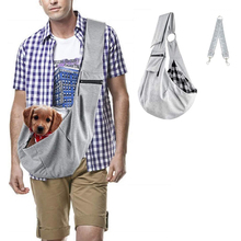 Dog Sling Carrier Adjustable Pet Sling Carrier Reversible Sling Carrier Bag for Small Medium Dogs Cats for 0 6 5kg dog bag carrier portable shoulder carrier for dogs cat pet carrier breathable dog bags for small dogs medium puppy
