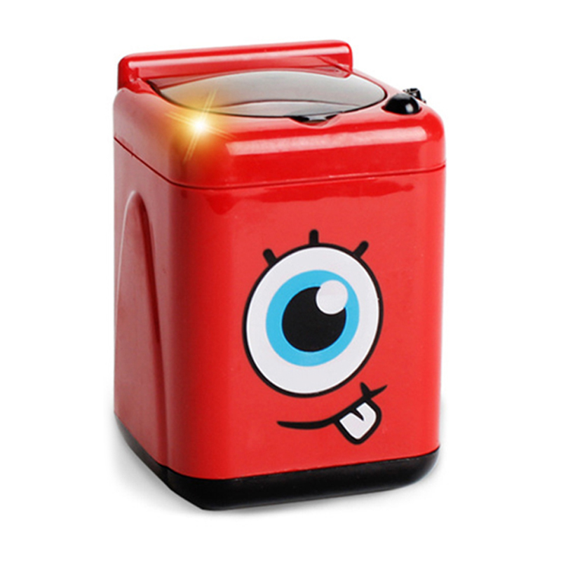 Электронная Мини-стиральная машина, детская игрушка, набор стиральной машины, имитационная бытовая техника, имитационная детская игрушка