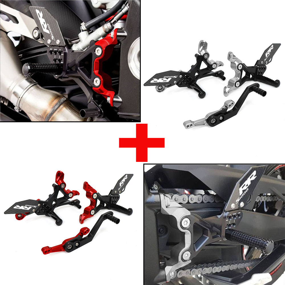 Repose-pieds réglables en aluminium, repose-pieds pour moto BMW S1000RR S 1000 RR K67 2019 2020 2021