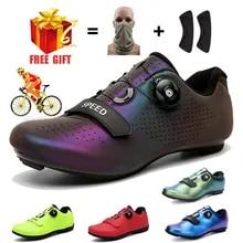 Cycling-Shoes Bicycle-Footwear MTB Road-Trek Mountain Speed Professional Flat Women
