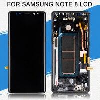 Dinamico для samsung Galaxy Note 8 lcd N9500 дисплей с сенсорным экраном дигитайзер сборка 6,3 N950F N950U N950FD lcd Бесплатная доставка