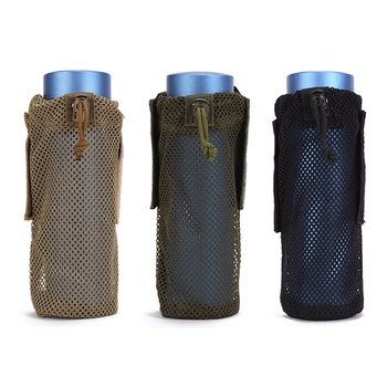 Bottle Bags Pouch Multifunctional Hiking Water Cup Cover Multi-function mesh Bottle Sleeve hide a beer can cover bottle sleeve case cola cup cover bottle holder thermal bag camping travel hiking accessory 330ml to 500ml
