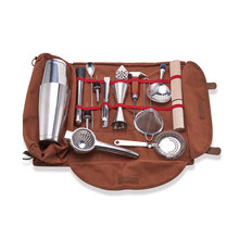 Bar Tool Bag Mixology Bag Empty Bag Bartenders Roll Up Kit Bag