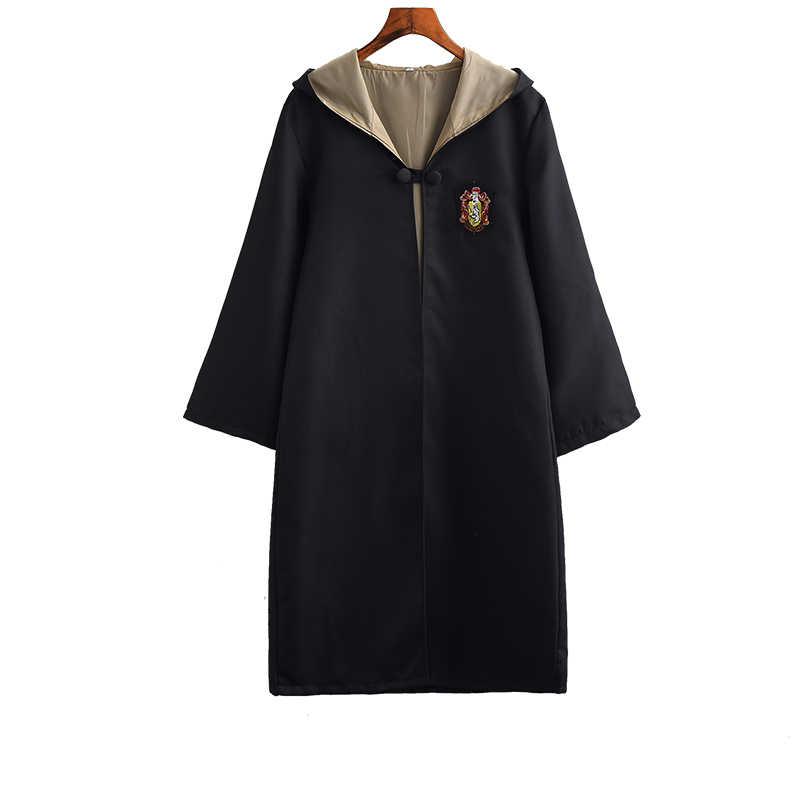 Potter Áo Dây Mũi Áo Choàng Kèm Thắt Khăn Cây Đũa Phép Kính Ravenclaw Nhà Gryffindor Hufflepuff Slytherin Trang Phục Người Lớn Potter Cosplay