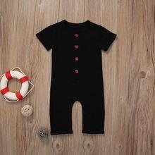 Одежда для новорожденных младенцев лето 2020 однотонный трикотажный