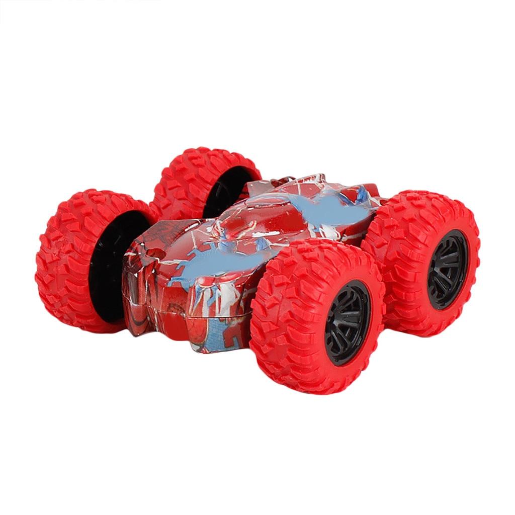 Инерционная двухсторонняя трюковая машина граффити модель внедорожника автомобиль детская игрушка подарок для детей подарок на день рожд...