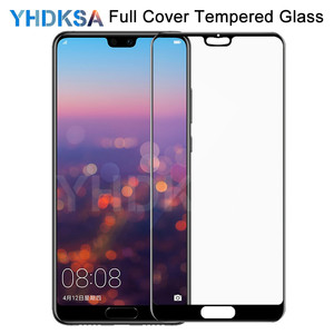 9D Protective Glass on the For Huawei P20 Pro P10 Lite Plus P9 Lite Plus P Smart Safety Tempered Screen Protector Glass Film(China)