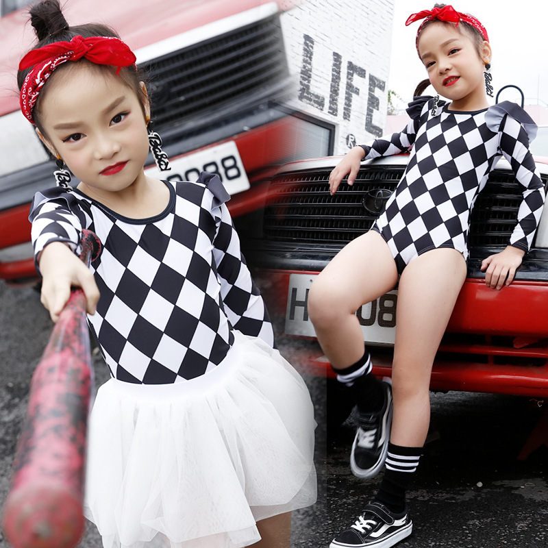 Korean-style Fashion Child KID'S Swimwear GIRL'S One-piece Swimming Suit Children GIRL'S Princess Dress Split Type Two Piece Set