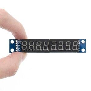 Image 5 - 10PCS/LOT MAX7219 Led Module 8 Digit 7 Segment Digital LED Display Tube MCU 100% new original