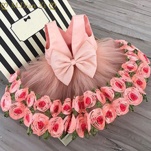 Girls Clothing Dress Elegant New Year Princess Children Party Dress Wedding Gown Kids Dress for Girls Birthday Party Dress Wear(China)