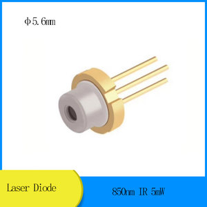 Diodo do laser de 850nm ir 5mw d5.6mm