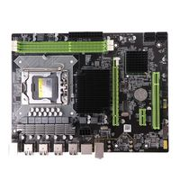 New X58 Motherboard LGA 1366 LGA1366 DDR3 Slot PC Desktop Mainboard Computer Motherboard for ECC ECC REG RAM Server 667F