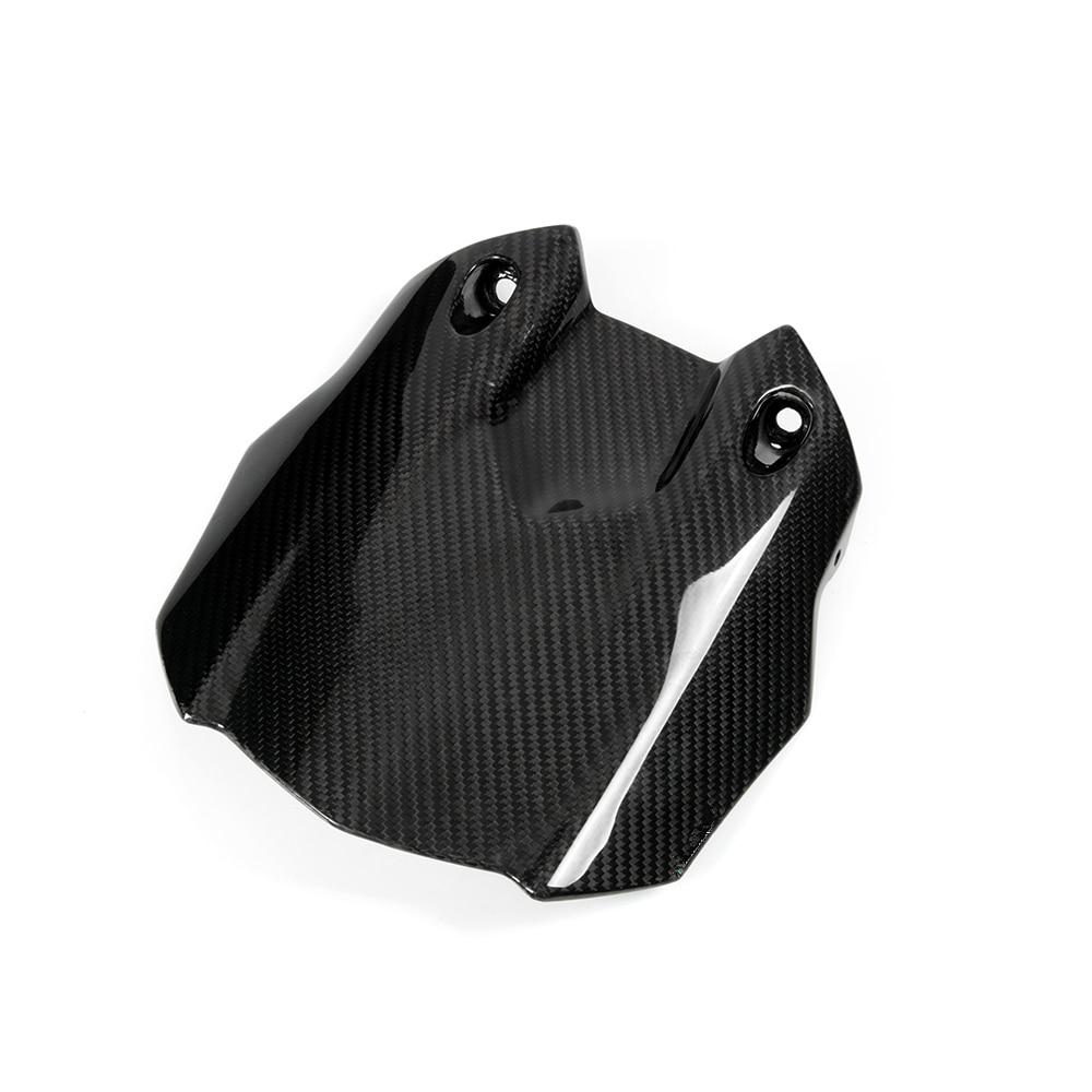 Abrazador de llantas trasero de fibra de carbono para motocicleta guardabarros carenado para YAMAHA YZF R1 2015 2016 MT10 Kit aerodinámico de 2 uds. Para motocicleta, Kit de alas para Honda NC, CB, CBR, Kawasaki, Ninja ZR, ZX, Yamaha y YZF, en blanco, negro y rojo