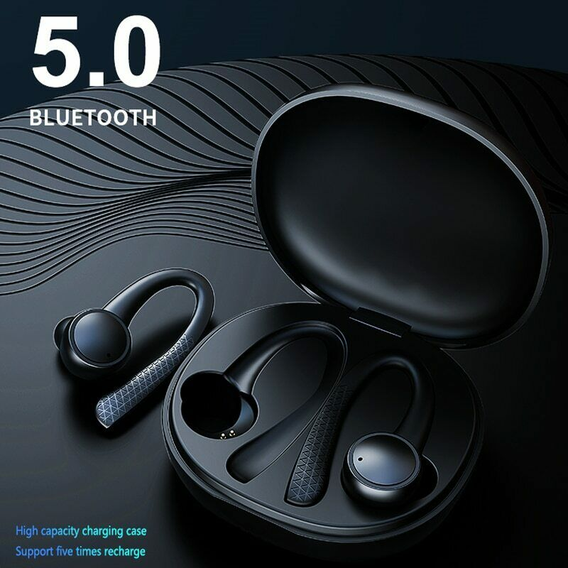 New <font><b>TWS</b></font> <font><b>5.0</b></font> Wireless Bluetooth Earphone T7 Pro HiFi Stereo Wireless headphones Sports Headset With Charging Box For Phone image