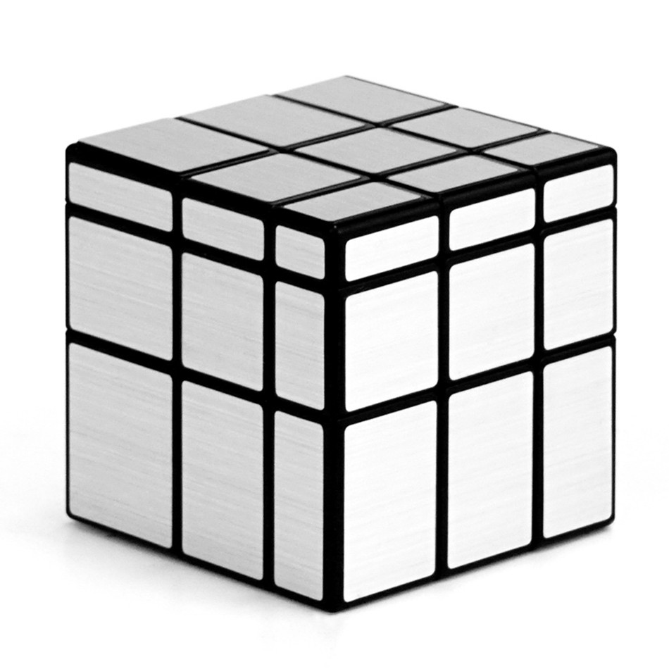 Qiyi Mirror Cube 3x3 Speed Cube 3x3x3 Magic Cube Puzzle Educational Toys For Children Cast Coated Mirror Blocks Gift 9