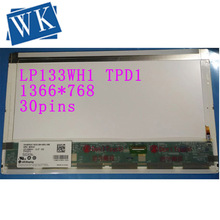 High quality 13.3''laptop LCD Screen LP133WH1 (TP) (D1) LP133WH1 TPD1 For DELL E