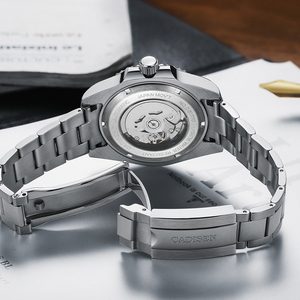 Image 5 - CADISEN 2020 New Mens Menchanical Watches Fashion Automatic Mens watches top Brand Luxury Military Watch Menrelogio masculino