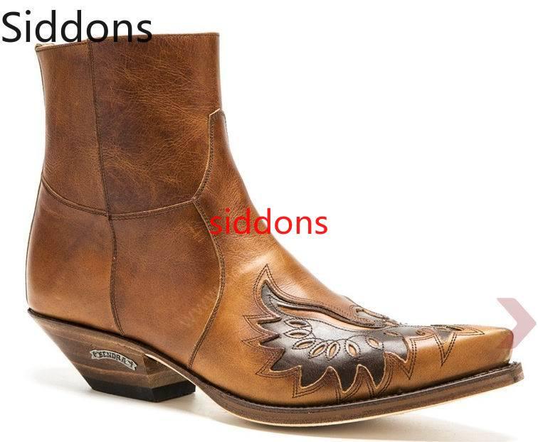 Winter Ankle Boots Men Shoes Appliques  Vintage Classic Male Casual Motorcycle Boot  Zapatos De Hombre Fashion Shoes Men D92