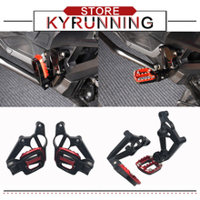 For X-ADV XADV X ADV 300 750 1000 2017-2019 Motorcycle accessories Folding Rear Foot Pegs Footrest Passenger