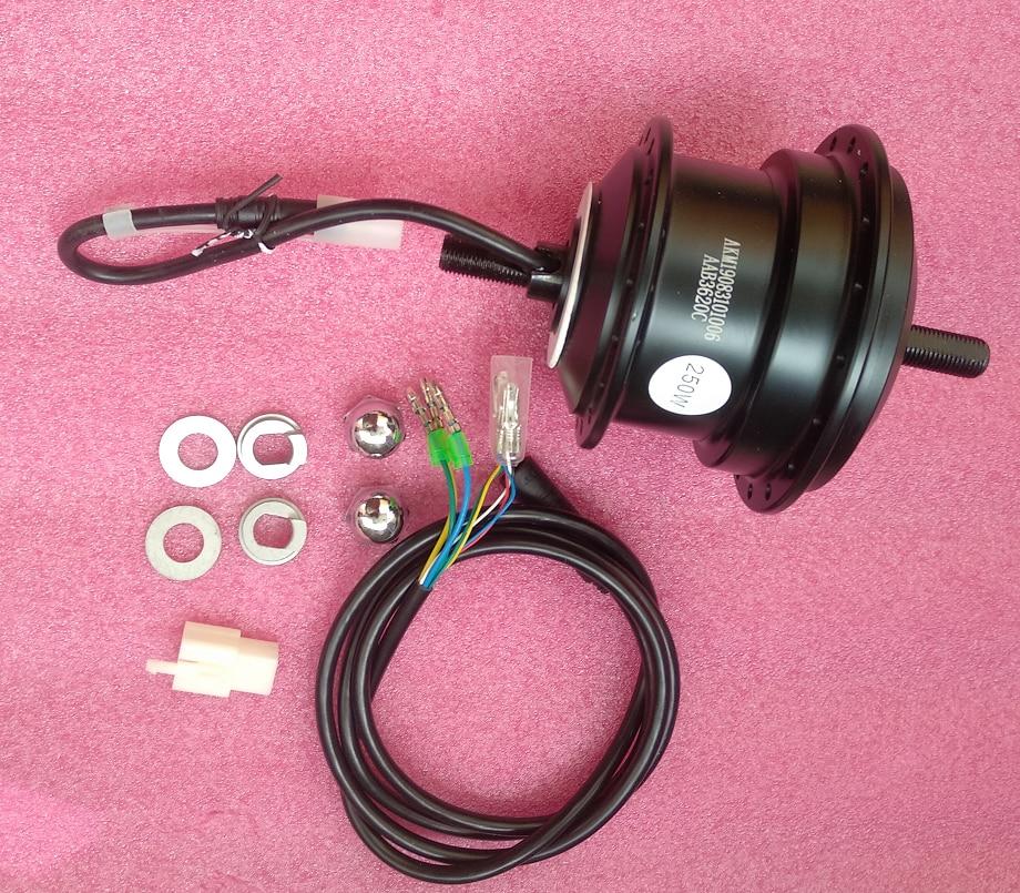 Fork Size-100mm Q75SX 36V 250W Ebike Motor RPM:201 Or 328/AKM-Q7SX 36V 250W Front Motor Ebike 36V 250W Hub Motor