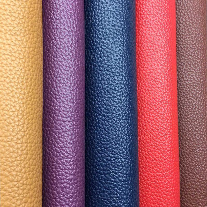 20x15CM PU Künstliche Leder Stoff Einfarbig Faux Leder Für Handgemachte Nähen Tasche Kleidung Sofa Auto DIY material