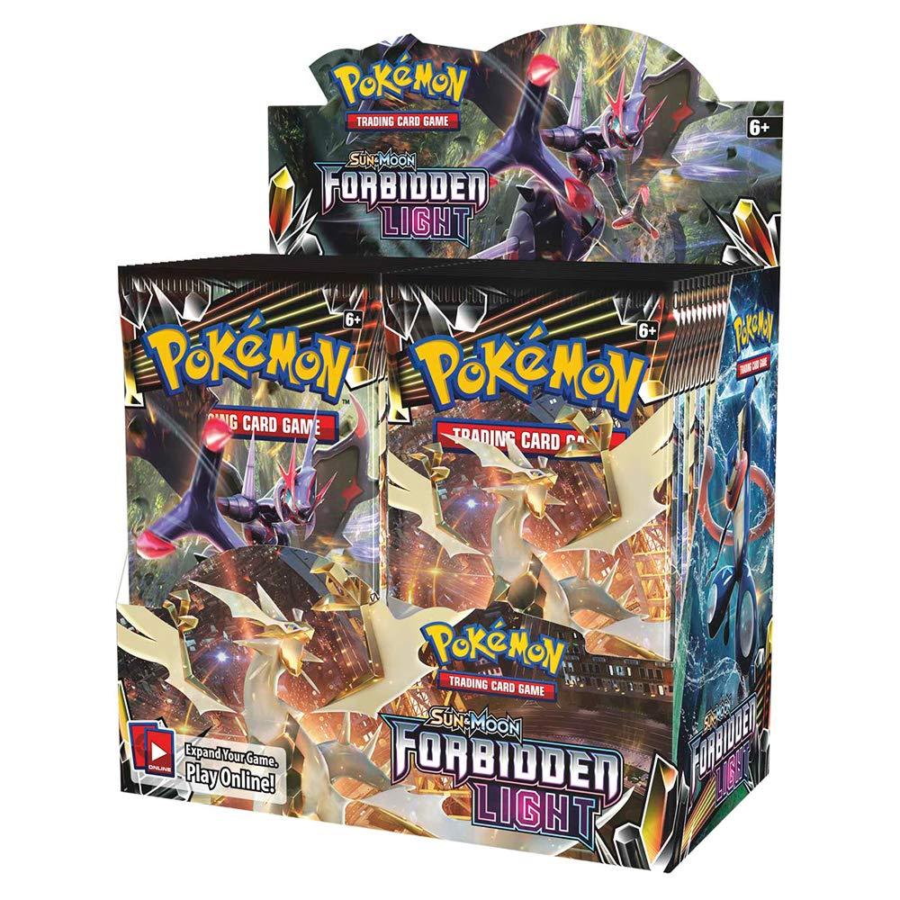 324 Cards Pokemon TCG: Sun & Moon Forbidden Light Booster Sealed Box | Collectible Trading Card Set